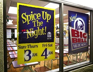 Fast-Food Restaurants Cater To Late-Night Hunger