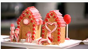 Easy, Inexpensive Way To Make Gingerbread Houses [VIDEO]