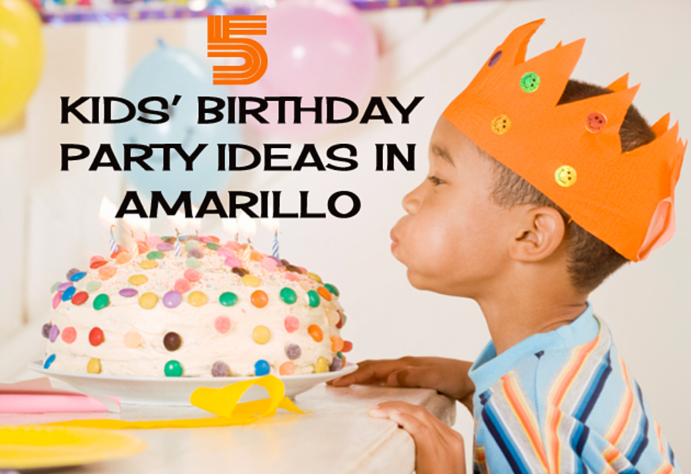 5 Ideas For Your Childs Birthday Party In Amarillo Texas