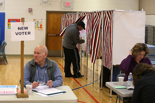 "New Hampshire Voters Head To The Polls For State's ""First In The Nation"" Primary"
