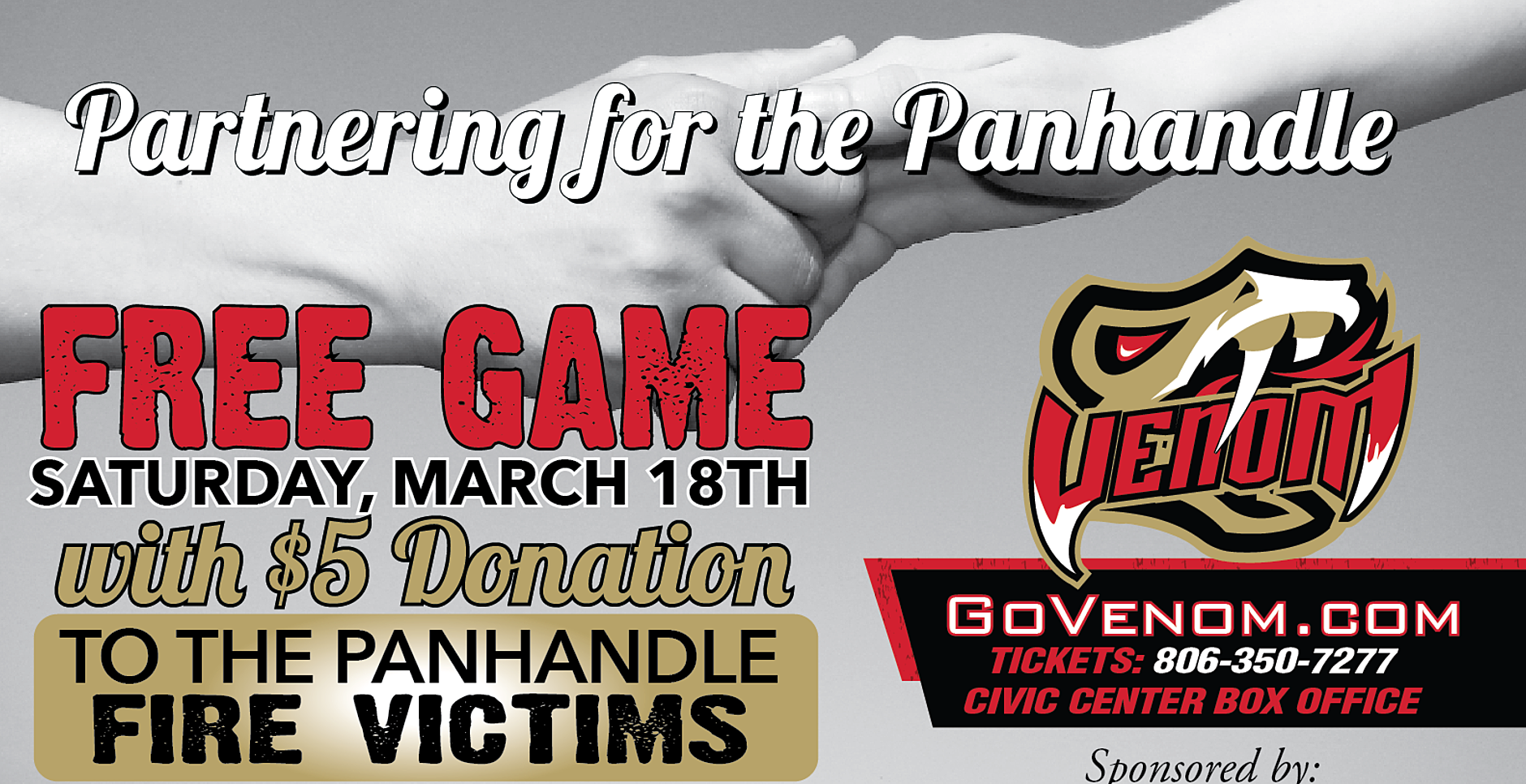 Restaurant roundup amarillo 2017 - Join The Amarillo Venom This Saturday As They Offer A Free Game Night With A 5 Donation To The Panhandle Fire Victims