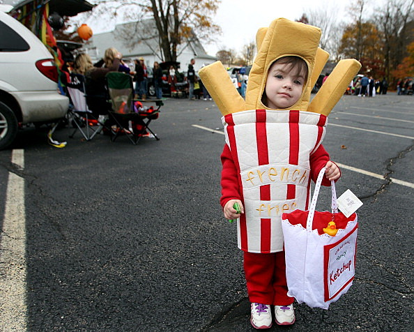 Fries And Ketchup Halloween Costume